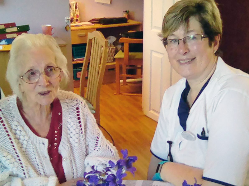 Experienced care home staff